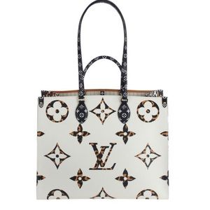 Louis Vuitton Giant Jungle On the Go Ivory Beige